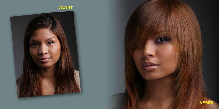 Fabuleux Inspiration coloration cheveux asiatiques LD88