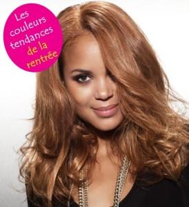 Mode pour femme : coloration cheveux caramel