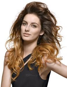 Tendance : coloration cheveux deux tons