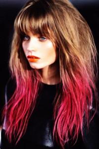 Mode pour femme : coloration cheveux douce