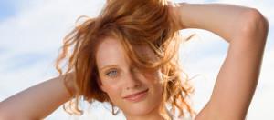Jolie coloration cheveux douce