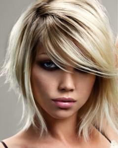 Inspiration coloration cheveux fins