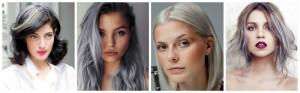 Tendance : coloration cheveux gris