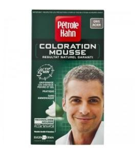Idée coloration cheveux gris acier