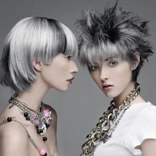 Coloration cheveux gris metal