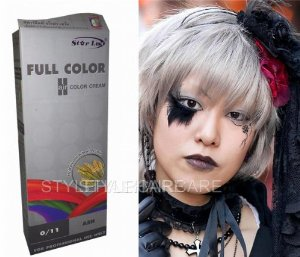 Quelle coloration cheveux gris acier