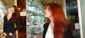 Idée coloration cheveux henné