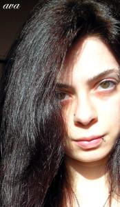 Modèle coloration cheveux indigo