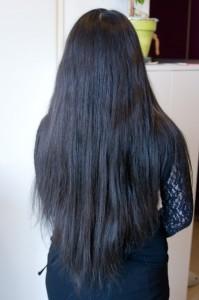 Exemple coloration cheveux indigo
