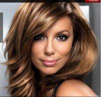 Mode pour femme : coloration cheveux marron miel