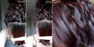Inspiration coloration cheveux secs