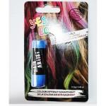 coloration cheveux temporaire bleu