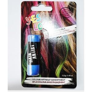 Mode pour femme : coloration cheveux temporaire bleu