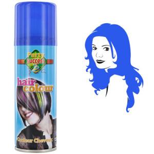 Inspiration coloration cheveux temporaire bleu