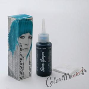 Tendance : coloration cheveux temporaire bleu