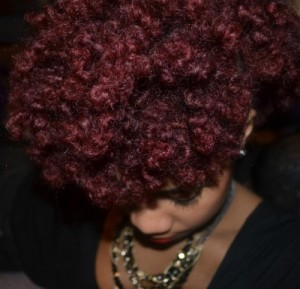 Jolie couleur cheveux afro