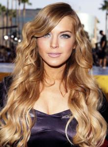 Jolie couleur cheveux blond doré