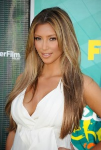 Belle couleur cheveux blond foncé pour femme