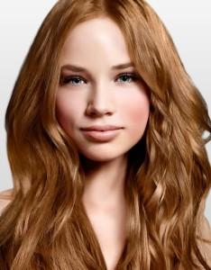 Tendance : couleur cheveux blond vénitien