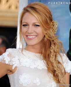 Belle couleur cheveux blond vénitien pour femme