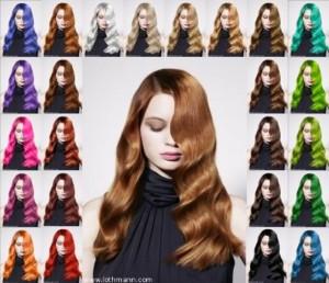 Exemple couleur cheveux flash