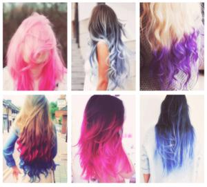 Tendance : couleur cheveux flash