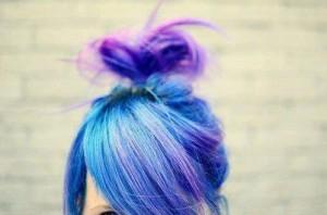 Jolie couleur cheveux flash