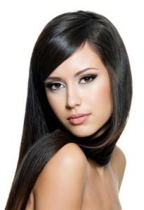 Belle couleur cheveux indienne pour femme