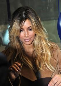 Inspiration couleur cheveux kim kardashian