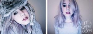 Mode pour femme : couleur cheveux lilas
