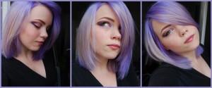 Inspiration couleur cheveux lilas
