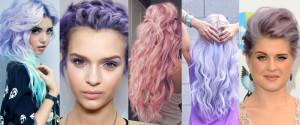 Quelle couleur cheveux lilas