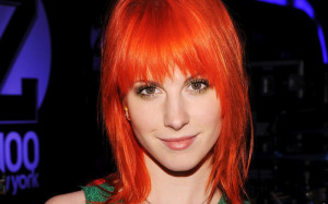 Exemple couleur cheveux orange