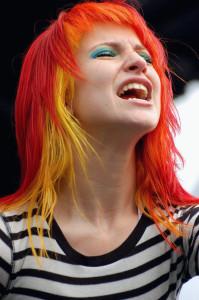 Quelle couleur cheveux orange