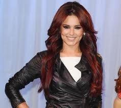 Exemple couleur cheveux rouge foncé