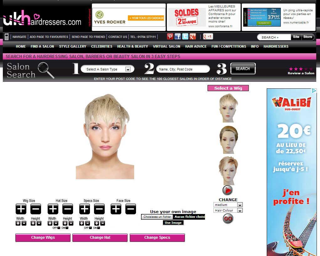 couleur cheveux virtuelle gratuit