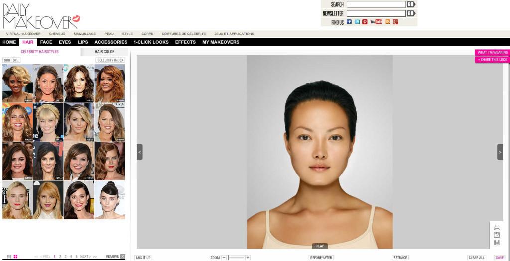 tendance couleur cheveux virtuelle gratuit - Logiciel Coloration Cheveux Gratuit